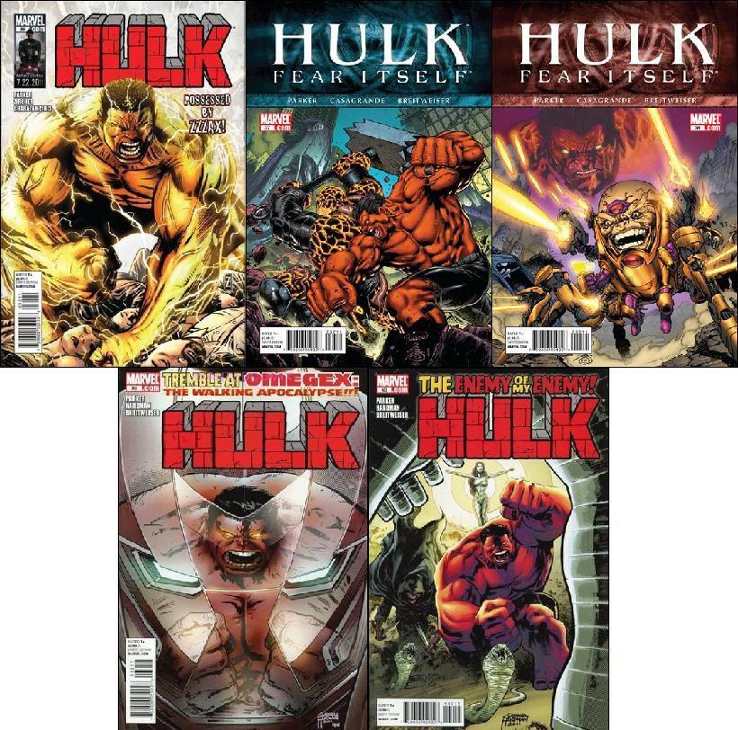 HULK #36, 37, 38, 39, 40 [2011] VF/NM *Trade Set*