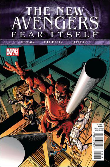 NEW AVENGERS #16 NM (2011) VOL 2  FEAR ITSELF
