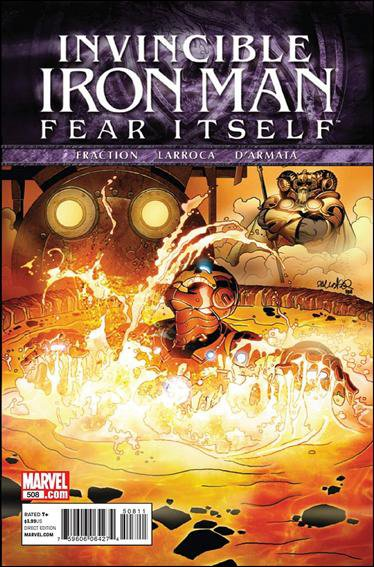 THE INVINCIBLE IRON MAN #508 NM (2011) FEAR ITSELF