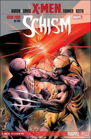 X-MEN SCHISM #4 NM (2011)