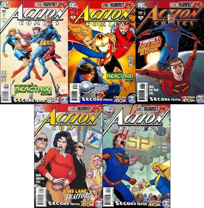 ACTION COMICS #881 882 883 884 885 (2009) VF/NM *Trade Set*