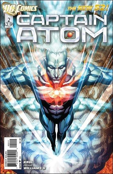 Captain Atom #2 nm (2011) The New 52!
