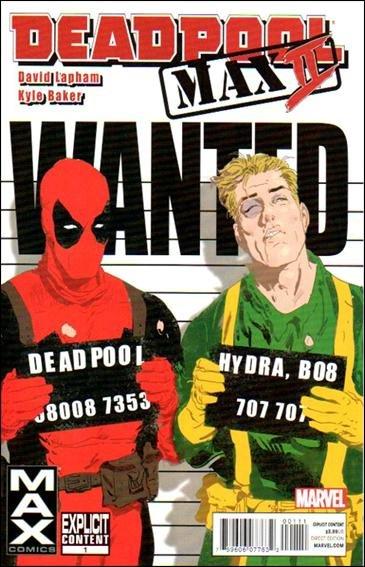 Deadpool Max 2 #1 NM (2011) Explicit Content