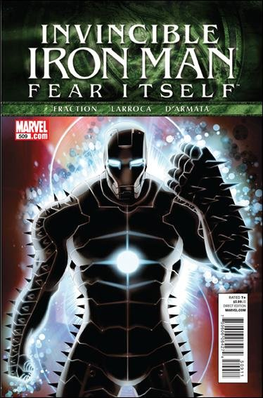 The Invincible Iron Man #509 nm (2011) Fear Itself