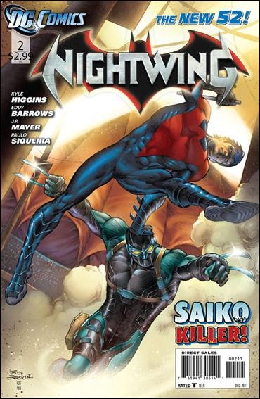 Nightwing #2 NM (2011) The New 52!