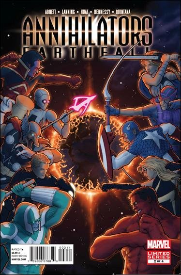 Annihilators: Earthfall #2 NM (2011)