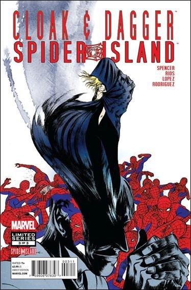 Spider-Island: Cloak & Dagger #3 NM (2011) *Spider Island*