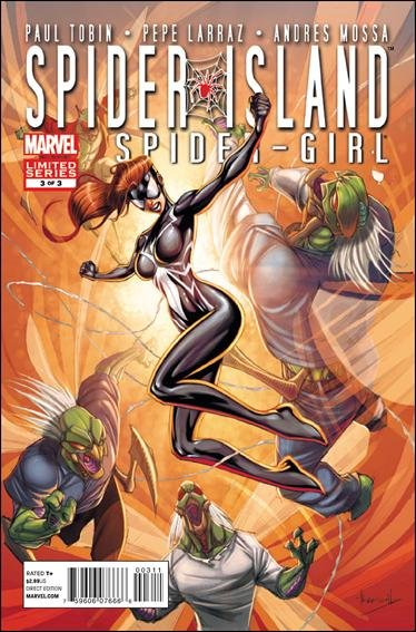 Spider-Island: Spider-Girl #3 NM (2011) *Spider Island*