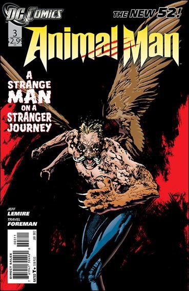 Animal Man #3 NM (2011) The New 52! 1st Print