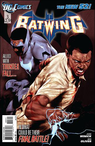 Batwing #3 NM (2011) The New 52!
