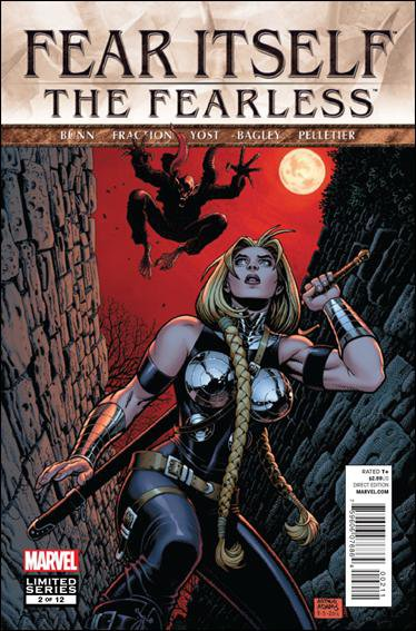 Fear Itself: The Fearless #2 NM (2011)
