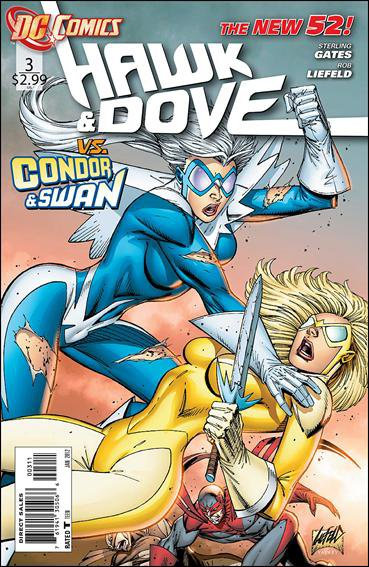 Hawk And Dove #3 NM (2011) The New 52!