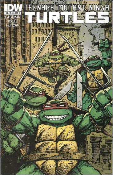 Teenage Mutant Ninja Turtles #4 B Cover (2011)VF/NM