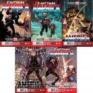 Captain America (Vol 7) #1, 2, 3, 4, 5 [2013] VF/NM *Trade Set*
