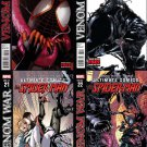 Ultimate Comics Spider-Man 19 20 21 22 [2012] VF/NM *Venom War Trade Set*