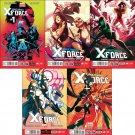 Uncanny X-Force #1, 2, 3, 4 , 5 [2013] VF/NM *Marvel Now Trade Set*