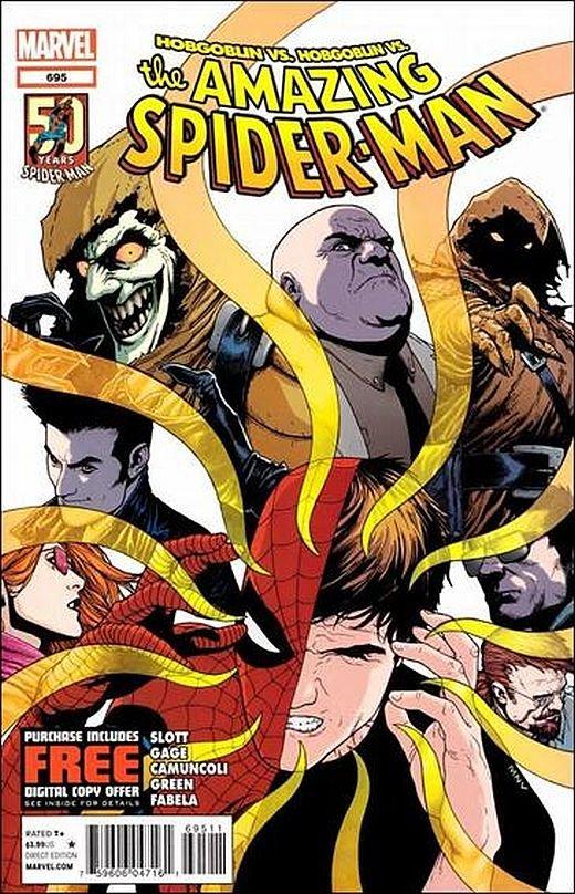 Amazing Spider-man #695 VF/NM *HOBGOBLIN VS. HOBGOBLIN*