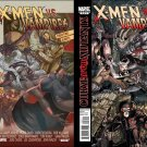 X-Men Curse of the Mutants X-Men vs Vampires (Vol 1) #1 2 [2010] VF/NM *Complete Set*