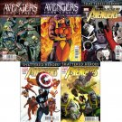 Avengers (Vol 4) #16 17 18 19 20 [2011] VF/NM *Fear Itself - Shattered Heroes Tie-In* *Complete Set*