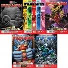 Iron Man #11 12 13 14 15 [2013] VF/NM  *Marvel Now Trade Set*