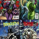 Batman (Vol 2) #23.1 23.2 23.3. 23.4 [2013] VF/NM Villian Cover Set *3D Lenticular Motion Cover*