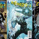 Batman The Dark Knight #23.1 23.2 23.3 [2013] VF/NM Villian Cover Set *3D Lenticular Motion Cover*