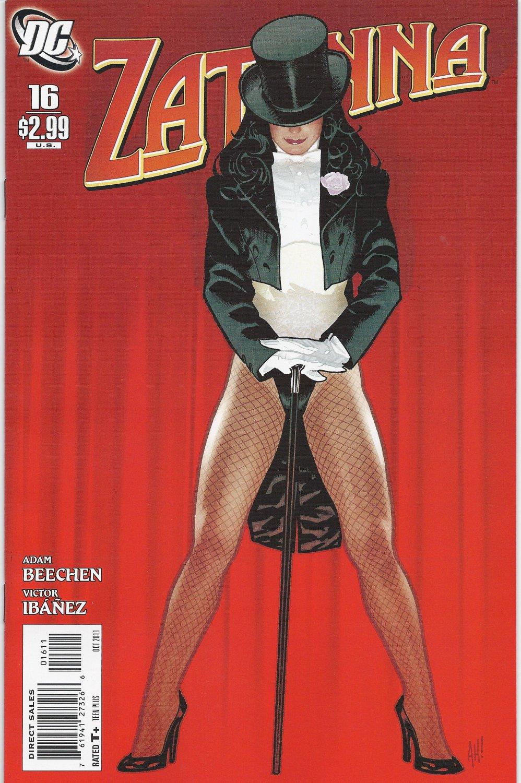 Zatanna (Vol 2) #16 [2011] VF/NM