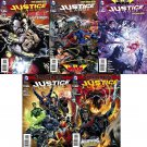 Justice League (Vol 2) #21 22 23 24 25 [2012] VF/NM *The New 52*Trinity War*Forever Evil Tie-In*