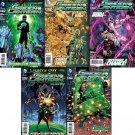 Green Lantern #21 22 23 24 25 [2013] Trade Set VF/NM DC Comics