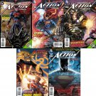 Action Comics (Vol 2) #21 22 23 24 25 [2013] VF/NM *The New 52 Trade Set*