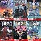 Thor: God of Thunder (2013) #1 2 3 4 5 6 7 8 9 10  NM *Trade Set*