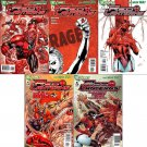 Red Lanterns #1 2 3 4 5 [2011] VF/NM *The New 52! Trade Set*