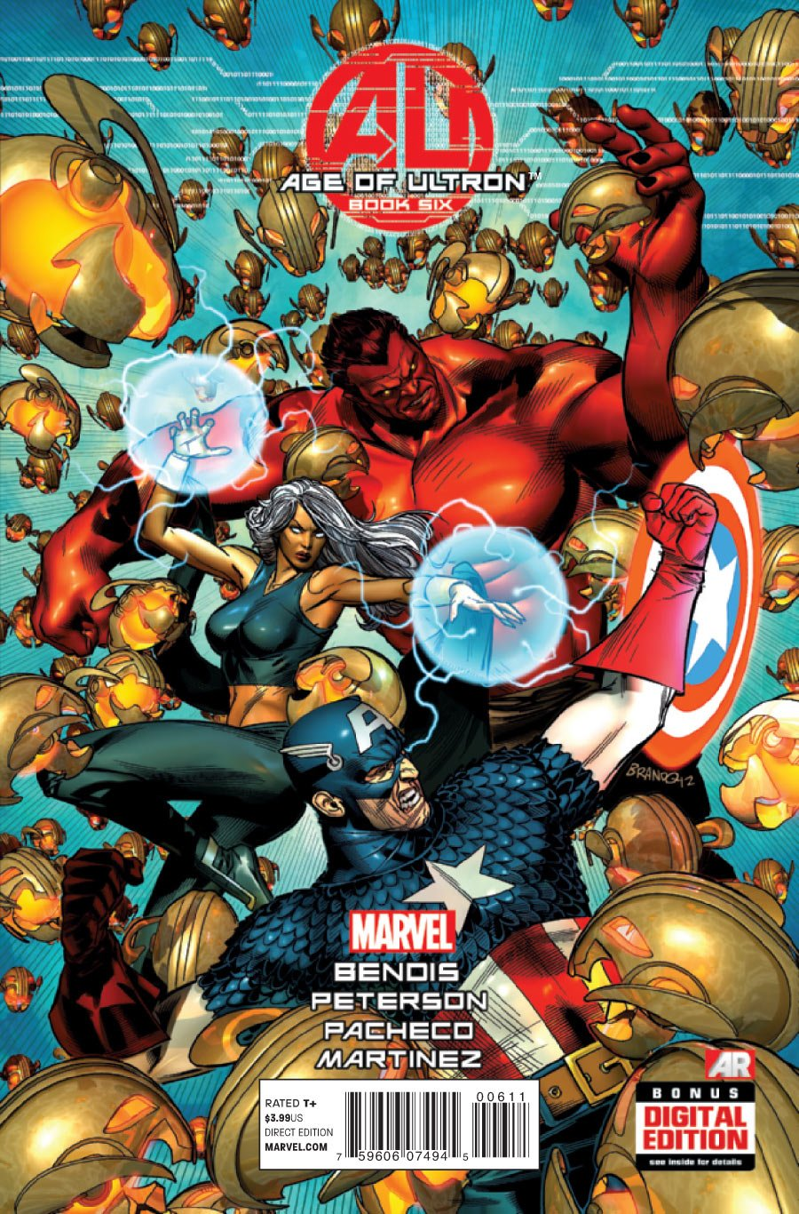 Age of Ultron #6 [2013] * Incentive Copy *