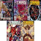 Teen Titans #21 22 23 24 25 [2013] VF/NM *The New 52! Trade Set*