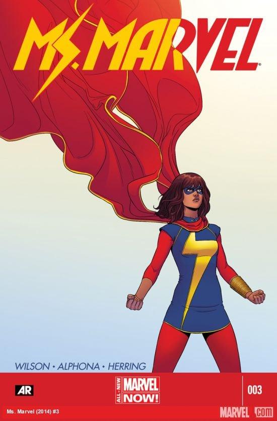 Ms. Marvel #3 2014 VF/NM *Marvel Now!*