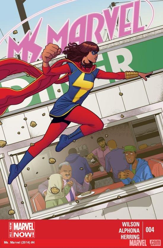 Ms. Marvel #4 2014 VF/NM *Marvel Now!*