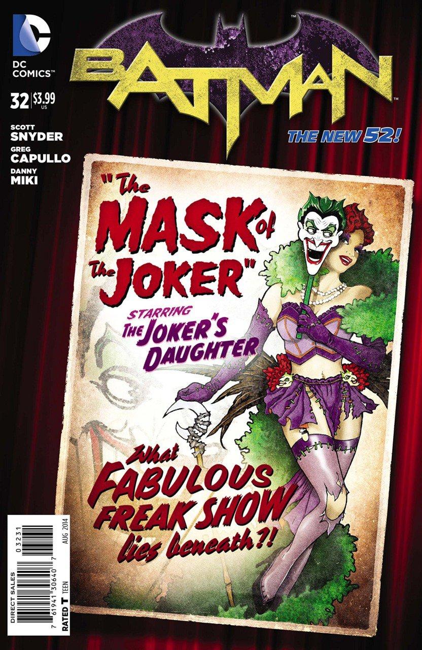 Batman #32 [2014] VF/NM *The New 52*Bombshell Variant*