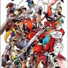 Uncanny X-Men #1 Deadpool State Bird Variant (2013) VF/NM
