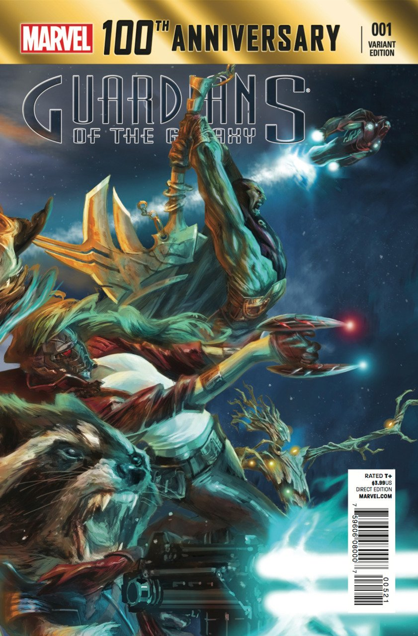 100th Anniversary Guardians of the Galaxy #1 B Cover [2014] VF/NM