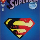 Superman #78 [1993] Die cut cover deluxe edition *Incentive Copy*