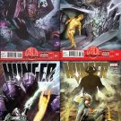 Hunger # 1, 2, 3, 4 [2013]  VF/NM Trade Set Complete Story