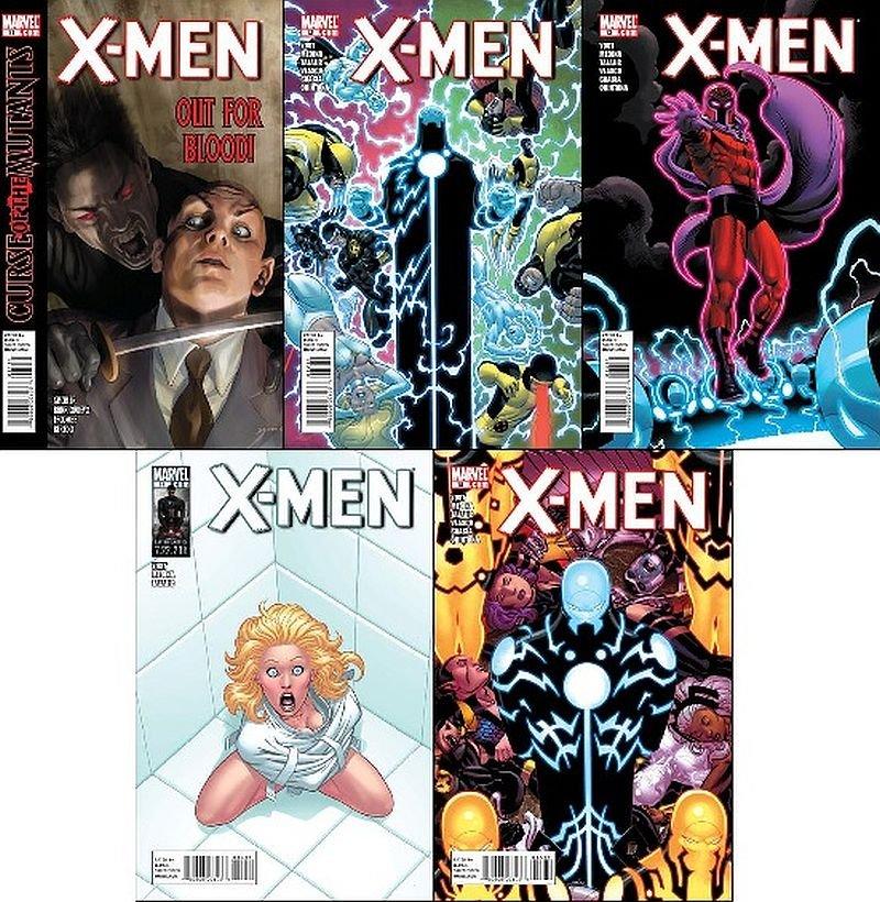 X-Men (Vol 3) [2011] #11, 12, 13, 14, 15  VF *Trade Set!*