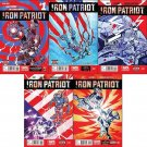 Iron Patriot #1, 2, 3, 4, 5 (2014) VF/NM *Trade Set*