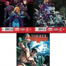 Ultimate FF #1, 2, 3,4,5  [2014] VF/NM *Trade Set*