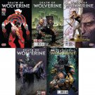 Death of Wolverine #1-4 [2014] VF/NM *Includes *Bonus* Land variant cover*
