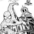 Amazing Spider-Man #1 Newbury Comics Sketch Variant [2014] VF/NM Marvel Comics