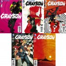 Grayson #1 2 3 4 5 [2014] VF/NM *DC Comics Trade Set*
