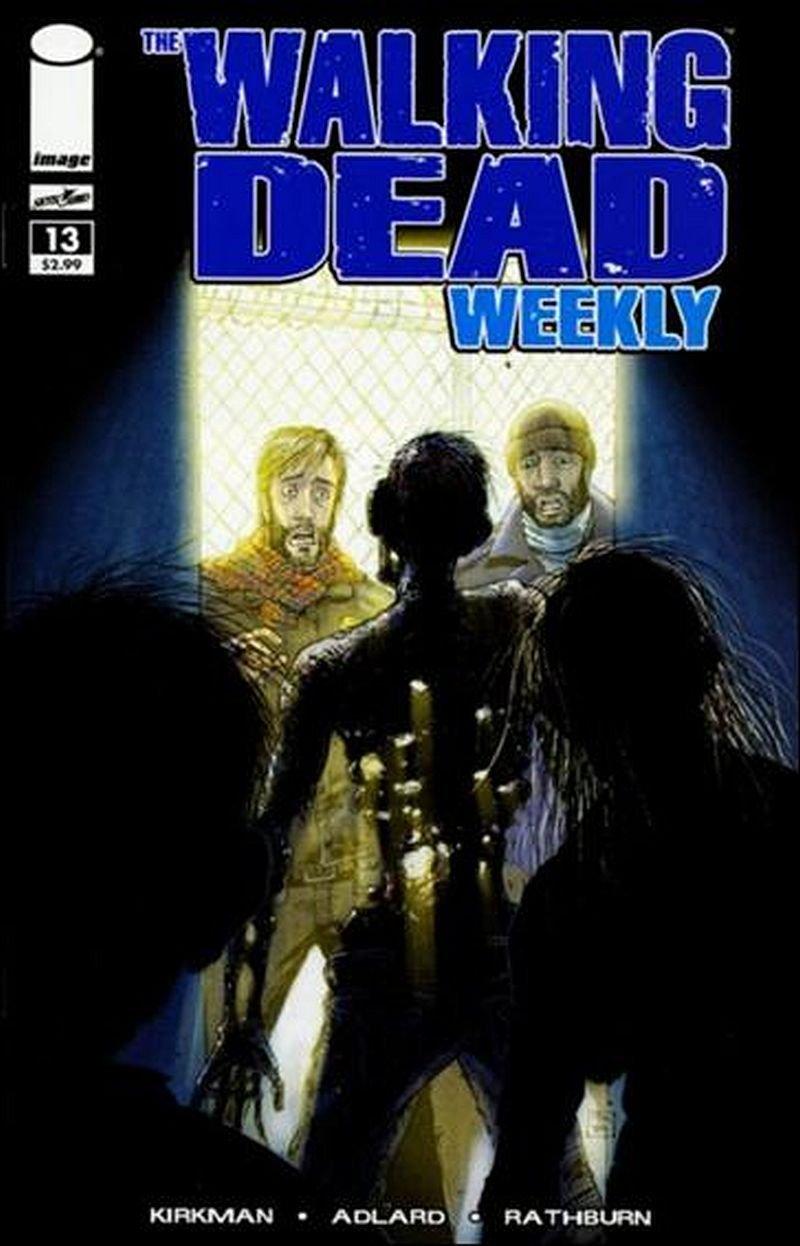 Walking Dead Weekly #13 [2011] VF/NM Image