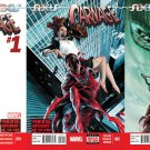 Axis: Carnage #1 2 3 [2014] VF/NM Marvel Comics Trade Set