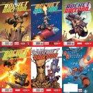 Rocket Raccoon #1 2 3 4 5 + Free Comic Book Day #1 [2014] VF/NM Marvel Comics